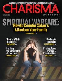 Charisma Magazine November 2014 cover