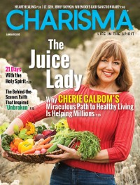 Charisma Magazine January 2015 cover