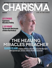 Charisma Magazine March 2015 cover