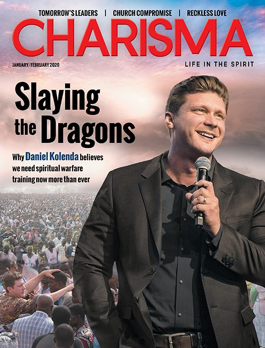 Charisma Magazine cover